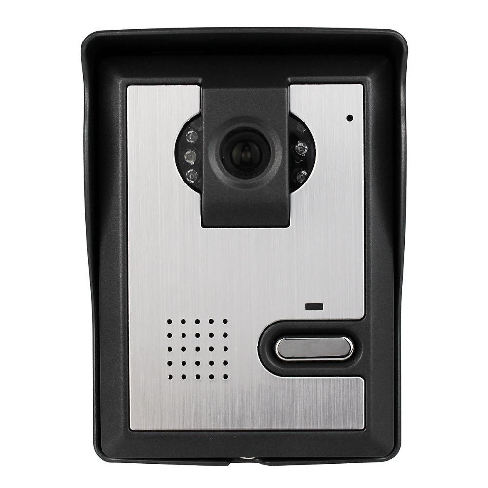 4 3 intercom monitor doorbell system ir night vision for Door video camera