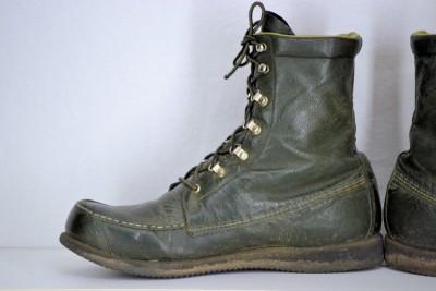 vintage kangaroo browning green leather ultra