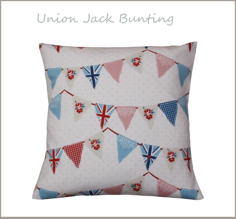 UNION JACK BUNTING SHABBY COUNTRY CHIC NAUTICAL OLYMPICS VINTAGE CUSHIONS COVERS eBay