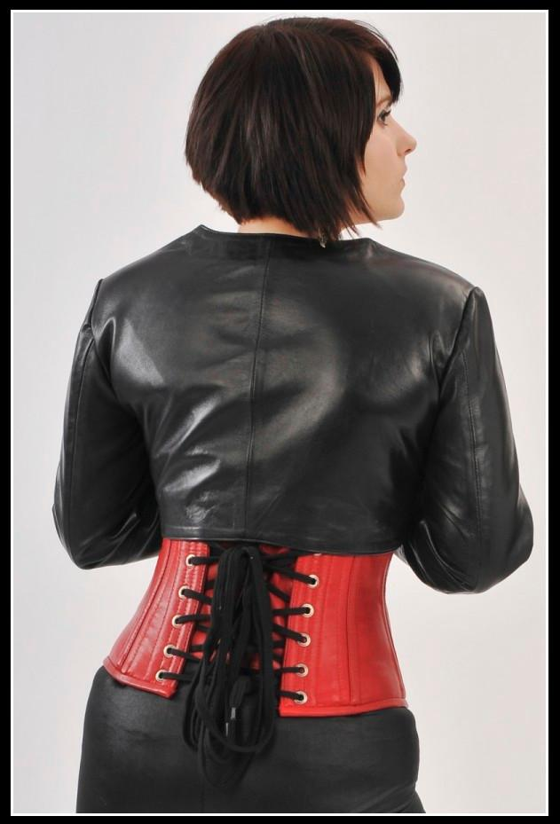 Bolero Leather Jacket