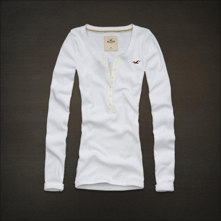 NWT Hollister by Abercrombie Women La Piedra Long Sleeve ...