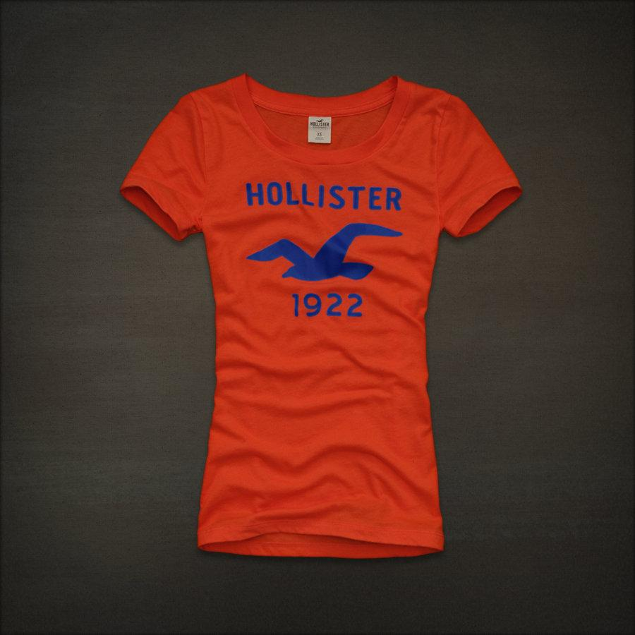 Hollister by Abercrombie Women Hidden Hills Graphic Tee T ...