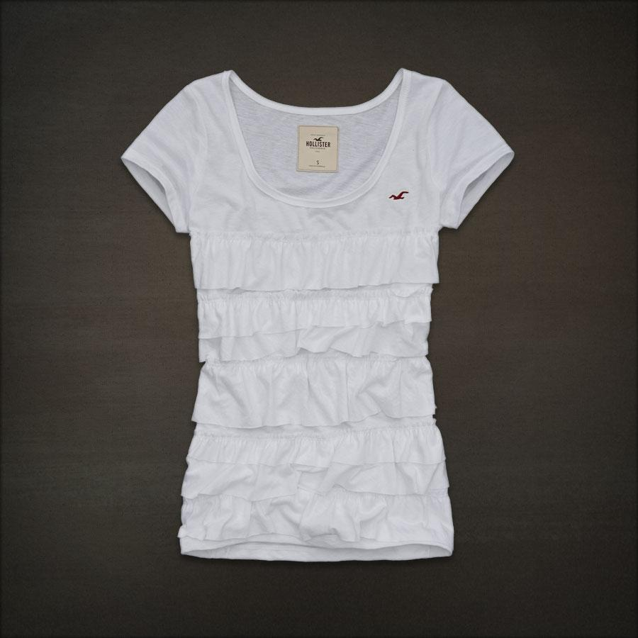 by Abercrombie Women Big Dume Tee T Shirt White Size M