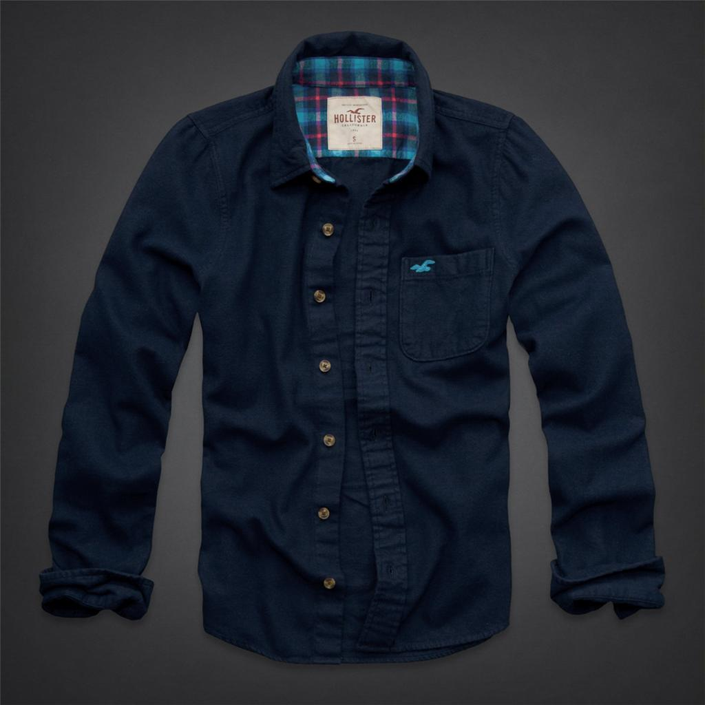 nwt hollister by abercrombie men cabrillo beach flannel