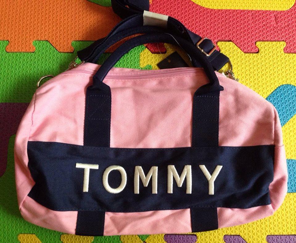 168faff45a31c Authentic NWT Tommy Hilfiger Logo Mini Duffle Gym or Travel Bag ...