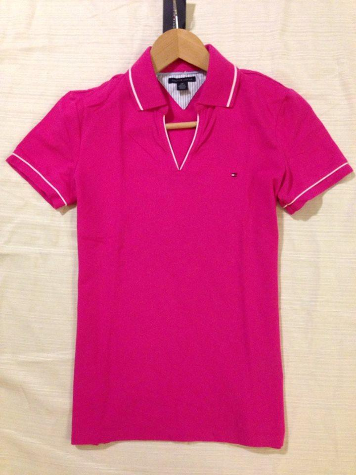 authentic nwt tommy hilfiger womens short sleeve polo tee. Black Bedroom Furniture Sets. Home Design Ideas