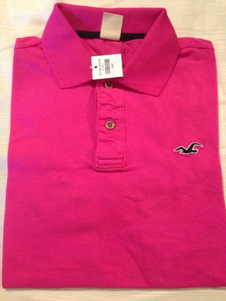 Abercrombie Pink Shirt