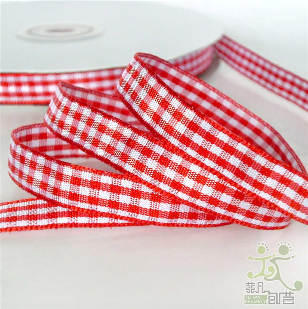 5-metres-gingham-ribbon-hairbow-9mm-U-pick-12-colors