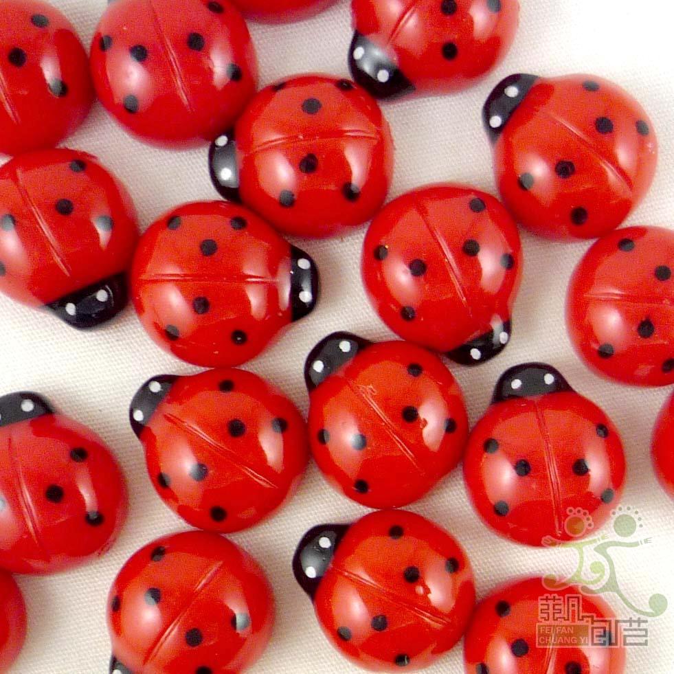 5/50Pcs cartoon resin flatback beads button cabonchon craft embellish U pick-C