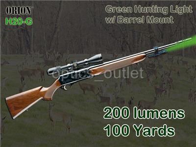 orion h20 g green led hog hunting light w optional. Black Bedroom Furniture Sets. Home Design Ideas