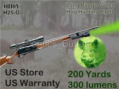 orion h25 g 200 yard green led hog hunting light w. Black Bedroom Furniture Sets. Home Design Ideas