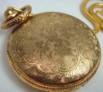 mens pocket bald eagle gold silver chain