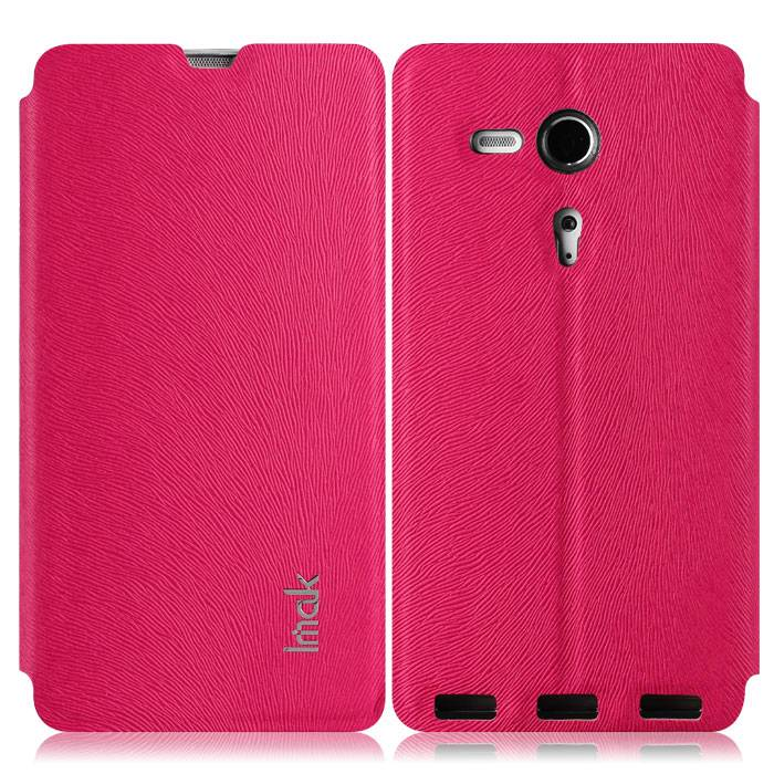 IMAK Le Series Leather Stand Cover Case For Sony Xperia SP LTE C5306 C5303 C5302