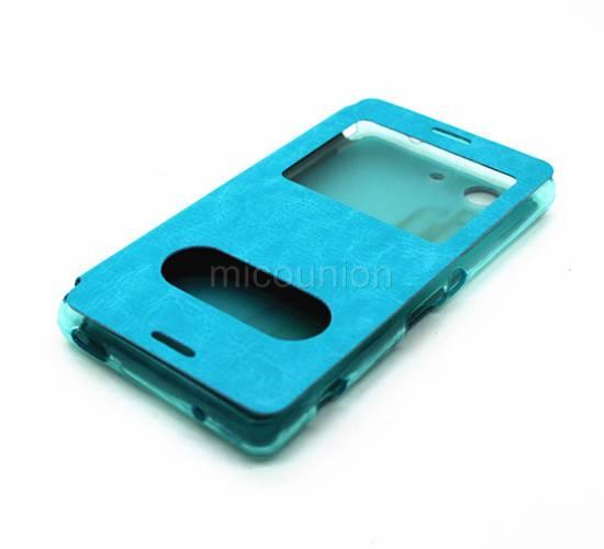 New Flip Stand Leather PU Cover Case For Sony Xperia Z3 Mini Compact D5803 D5833