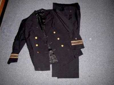 Original WWII WW2 US Navy Lt. Commander Uniform Military ...