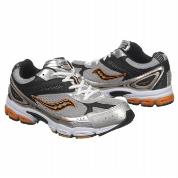 NEW-Saucony-Grid-Ignition-2-Athletic-Tennis-SHOES-Blk-Gray-Orange-Youth-Boys