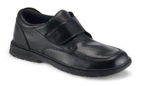 New-SPERRY-TOP-SIDER-034-MILES-034-BLACK-LEATHER-COMFORT-DRESS-SHOES-YOUTH-BOYS-VELCRO