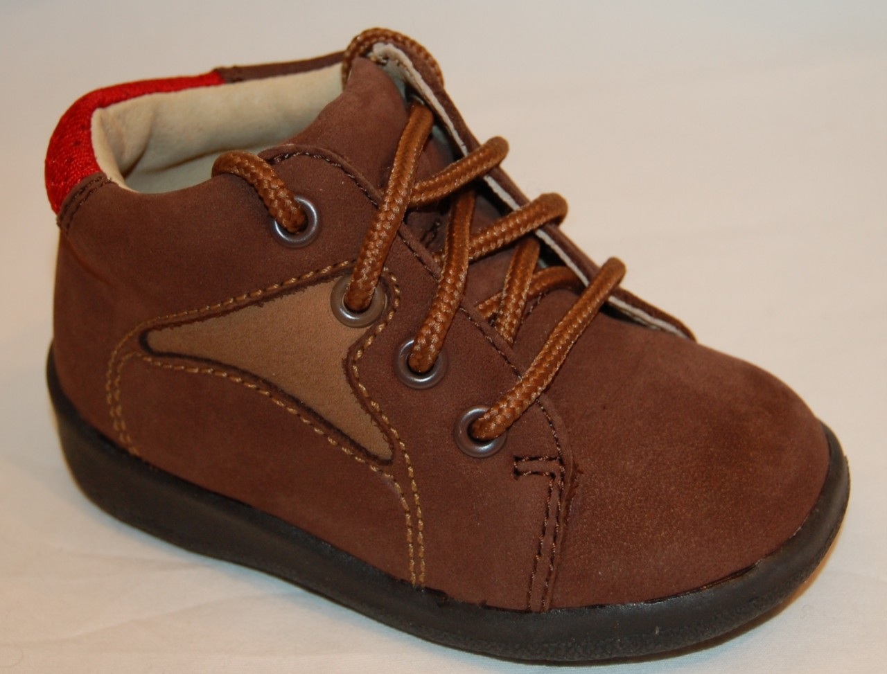 "New JUMPING JACKS ""Cub"" Dark Brown Leather HIKING Baby ..."