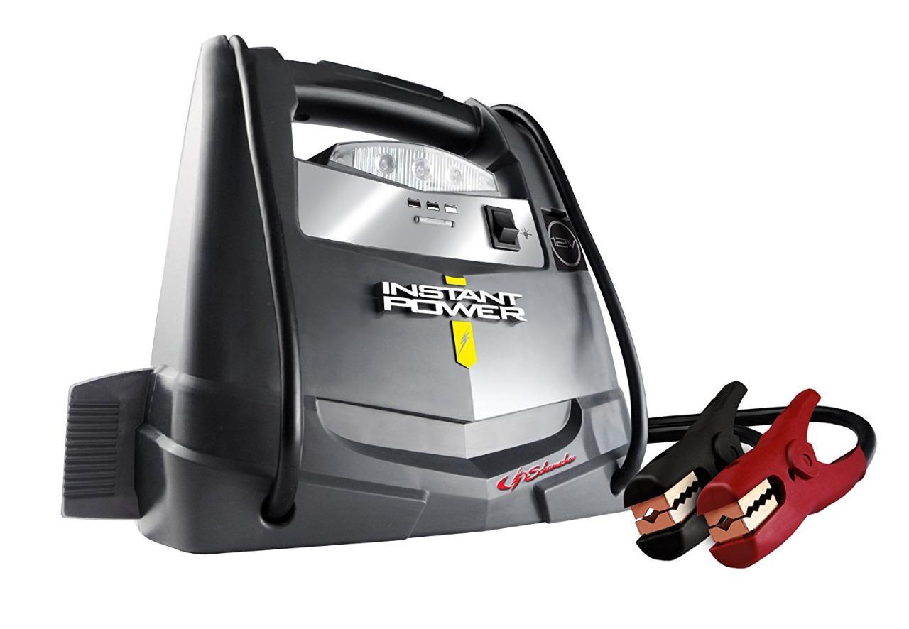 Car Battery Jump Starter Air Compressor