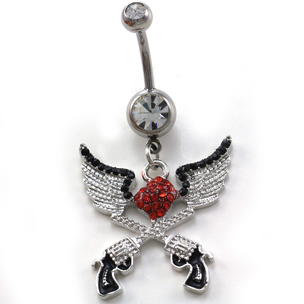 Dangle Belly Button Ring Sets