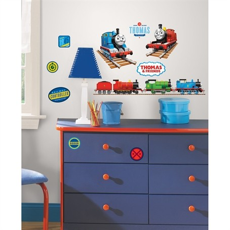 Thomas the Tank Engine Peel and Stick Wall Stickers