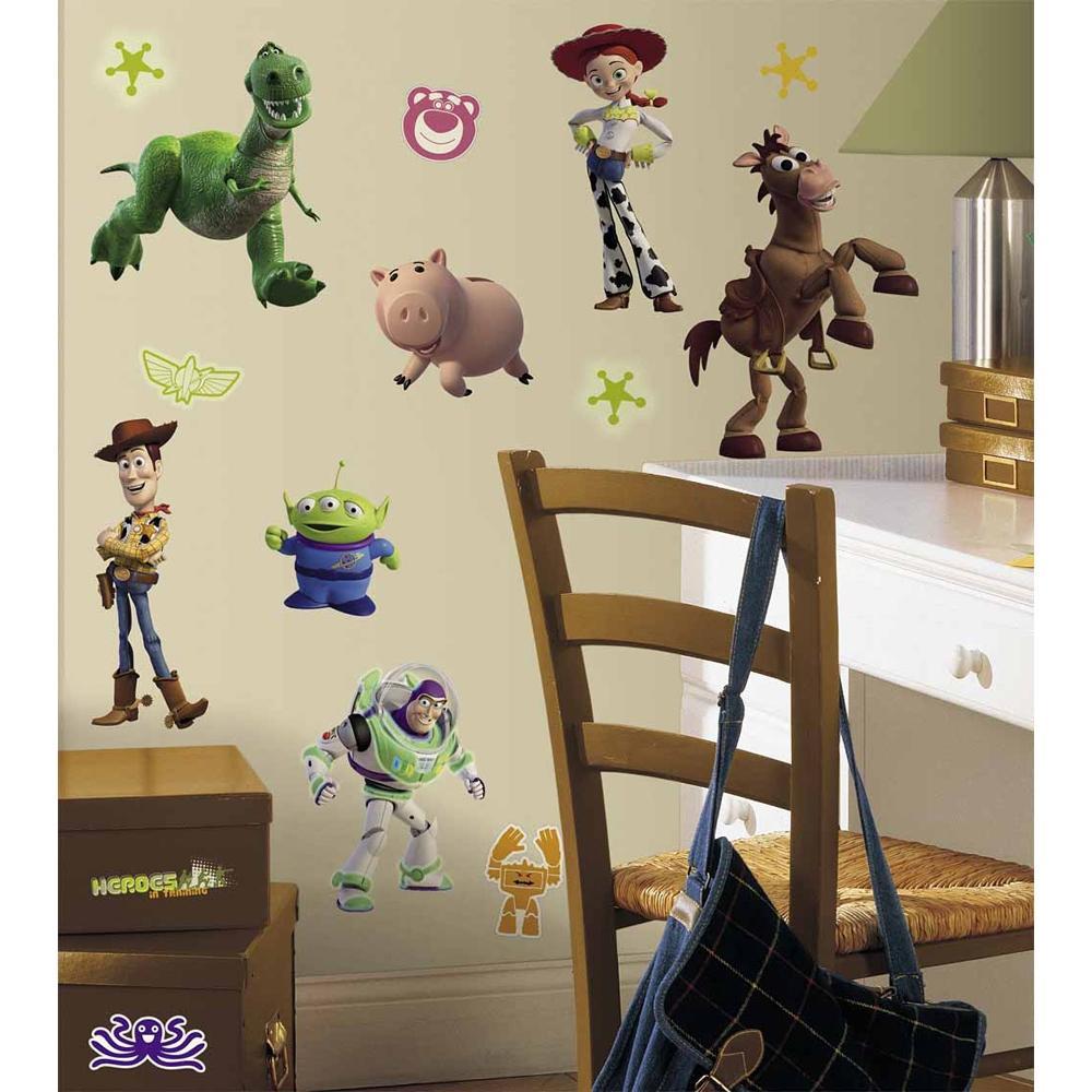 Http Www Ebay Ca Itm New Toy Story Wall Decals Buzz Lightyear Woody Kids Bedroom Stickers Room Decor 171125342000
