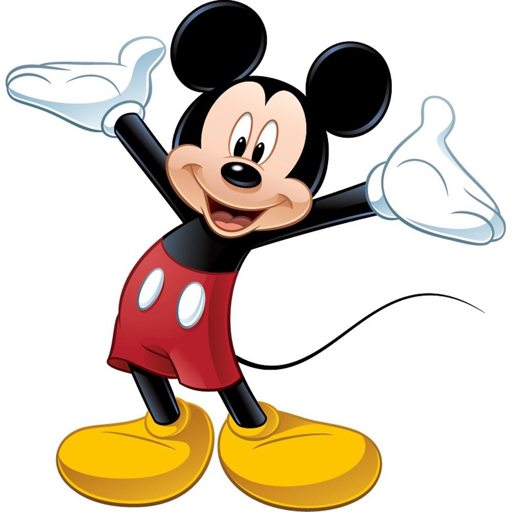 new giant mickey mouse wall decal disney bedroom stickers kids room decals decor ebay. Black Bedroom Furniture Sets. Home Design Ideas