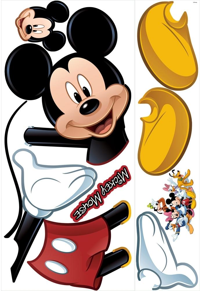 Giant Mickey Mouse Wall Decals. New Giant MICKEY MOUSE WALL DECAL Disney Bedroom Stickers Kids