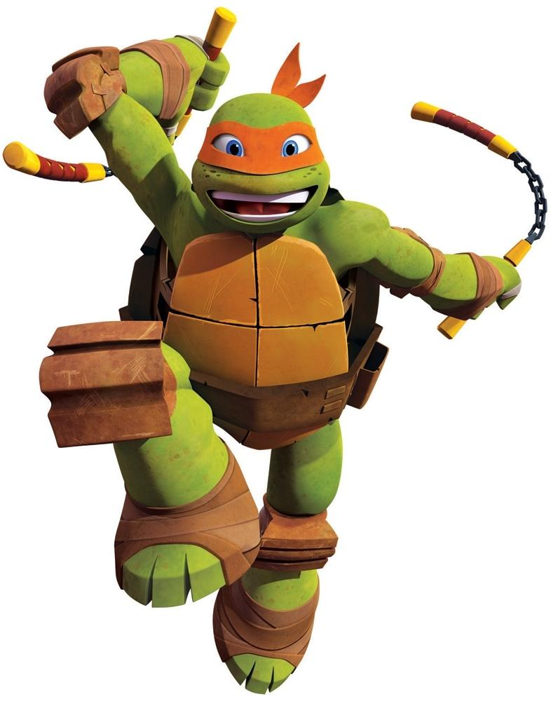 Giant Michelangelo Wall Decals Teenage Mutant Ninja