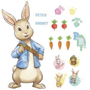 37 New Peter Rabbit Wall Decals Baby Nursery Or Kids Room