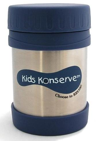 kids konserve food jar stainless steel insulated thermos hot cold 354 ml healthy ebay. Black Bedroom Furniture Sets. Home Design Ideas