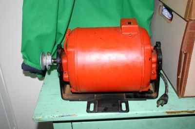 Wagner Electric Alternating Current Motor Bench Grinder Kar 1 5 Hp 110volts Ebay