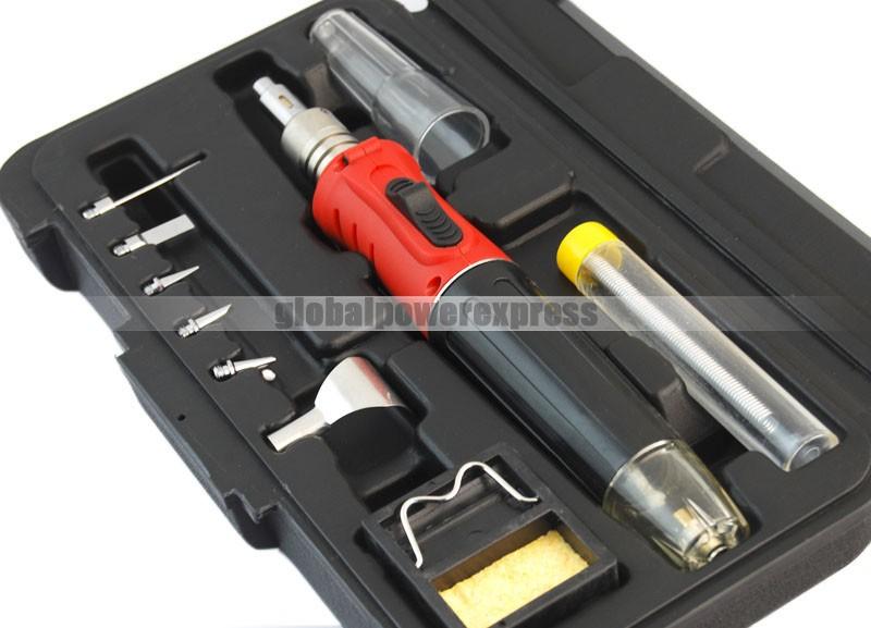 hs 1115k welding soldering iron gas torch tool kit ebay. Black Bedroom Furniture Sets. Home Design Ideas