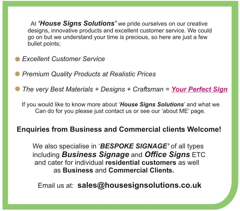 Modern house sign number plaque colour options avalible ebay for A href text decoration