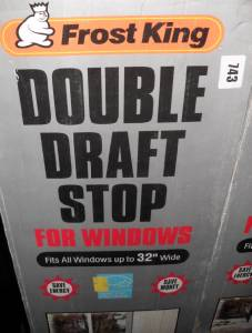 how to stop draughts from sash windows