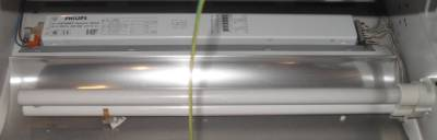 600mm X 60cm 2 X 36W Square Recessed Fluorescent Strip Light Fitting Lamps Ca