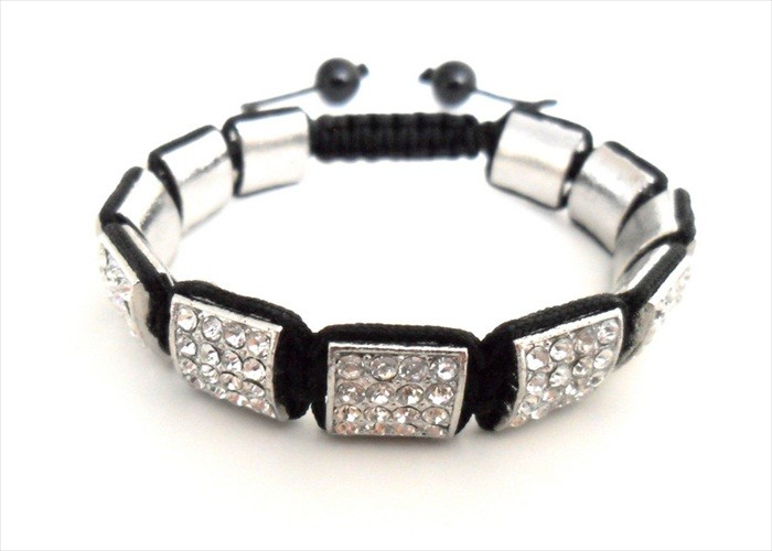 SHAMBALLA-BRACELET-CRYSTAL-PAVE-SQUARE-BEADS-2012-FASHION-UK-SELLER