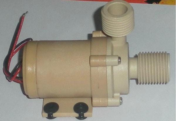 Solar 12v 24v dc hot water circulation pump brushless for Dc motor water pump