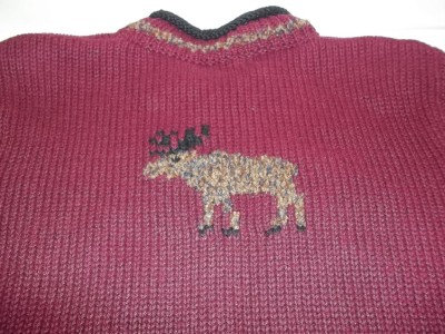Christopher Banks Clothing Store on Moose Sweater Womens Christopher