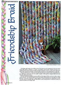 French braid quilt pattern free