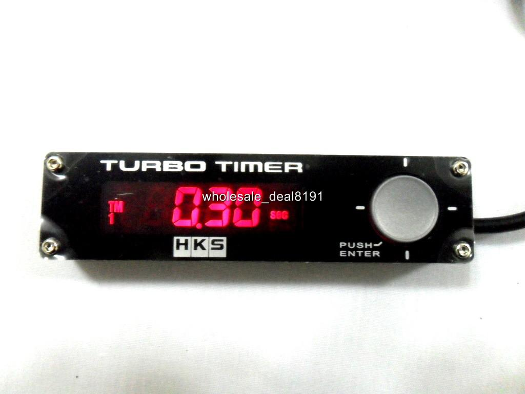 how to use hks turbo timer