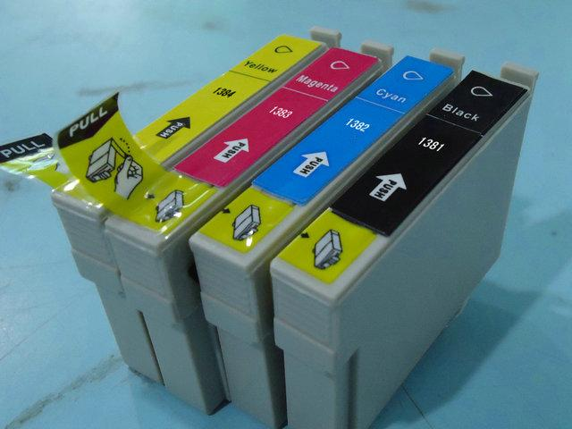 10-x-INK-T138-T1381-4-for-EPSON-WorkForce-60-435-445-545-845-633-NX230-Printer
