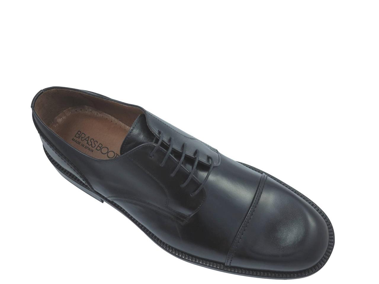 Brass Boot Seville Menu0026#39;s Lace Up Shoes Black | EBay