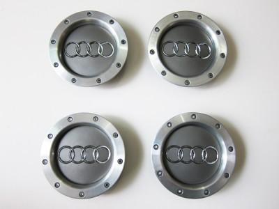 """Audi Wheel Center Cap B5 RS4 18"""" 9 Spokes Stock Wheel 8D0 601 165K Set of 4"""