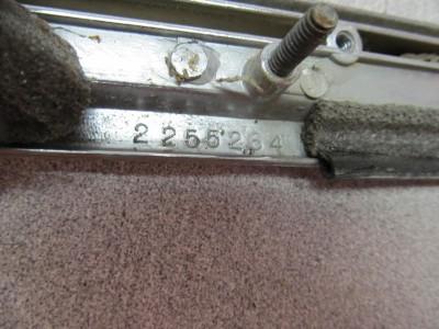 Chrome Bezel Right Tail Light Passengers Side Outer 63 Dodge 63DP1 166 1 RH