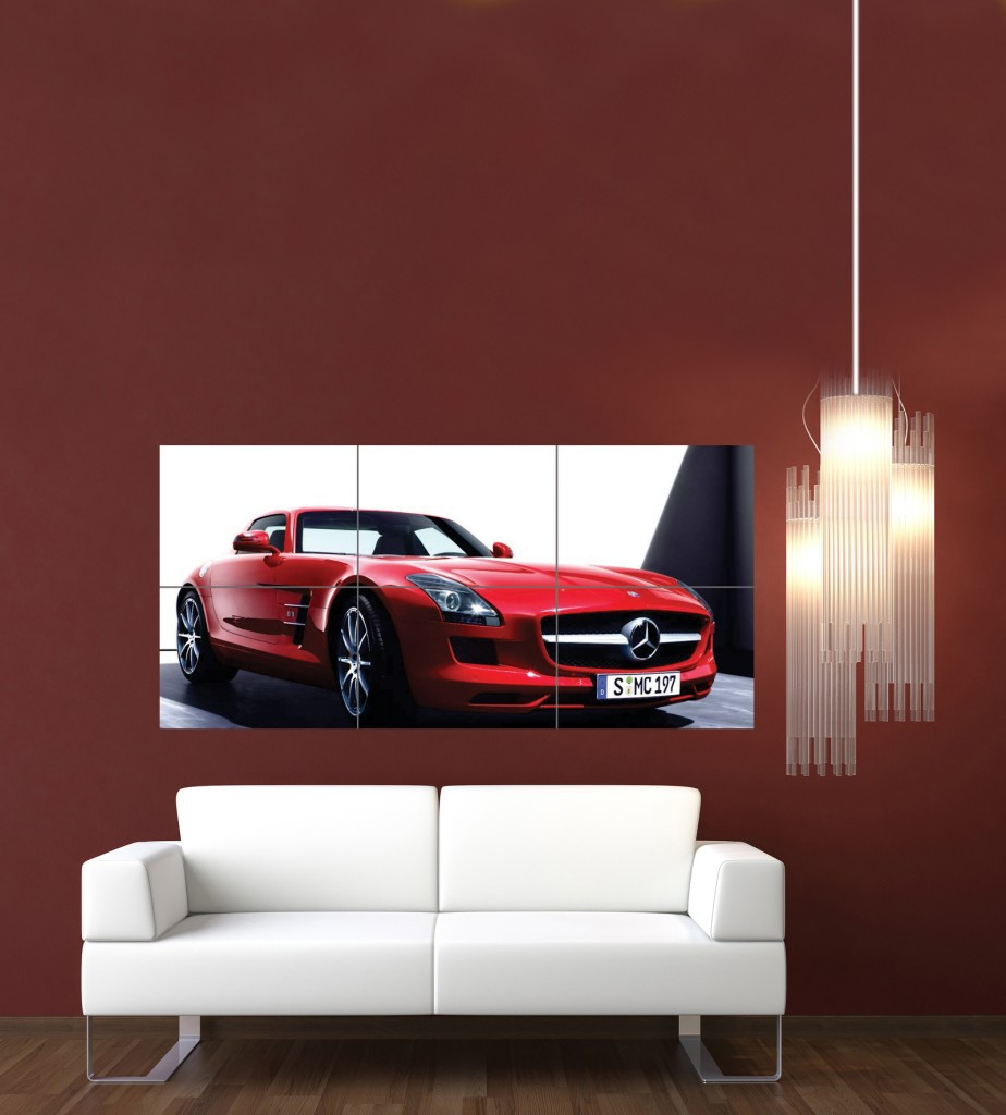 Captain america big brother mercedes benz official for Mercedes benz wall posters