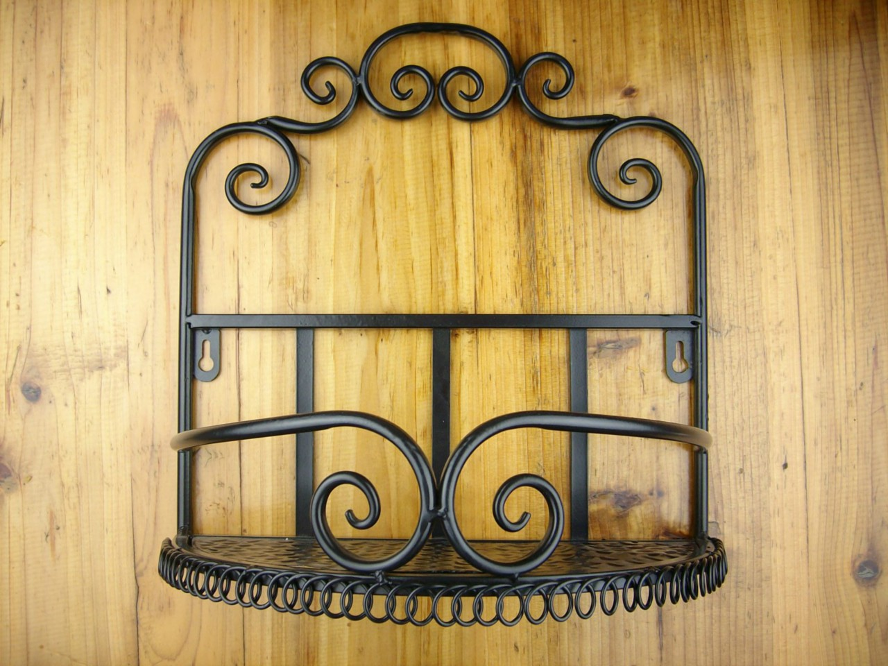 design iron bathroom toilet decorative wall shelf storage rack