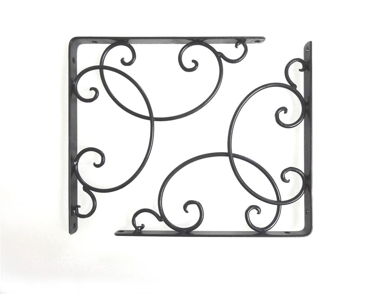 por antique shelf brackets - Decorative Metal Shelf Brackets