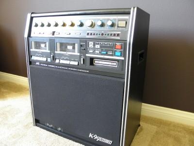 jvc karaoke machine