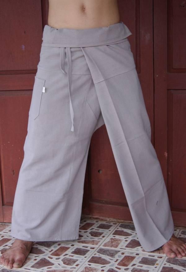 Thai Fisherman Trousers Pants Yoga Samurai Kung Fu Tai Chi ...